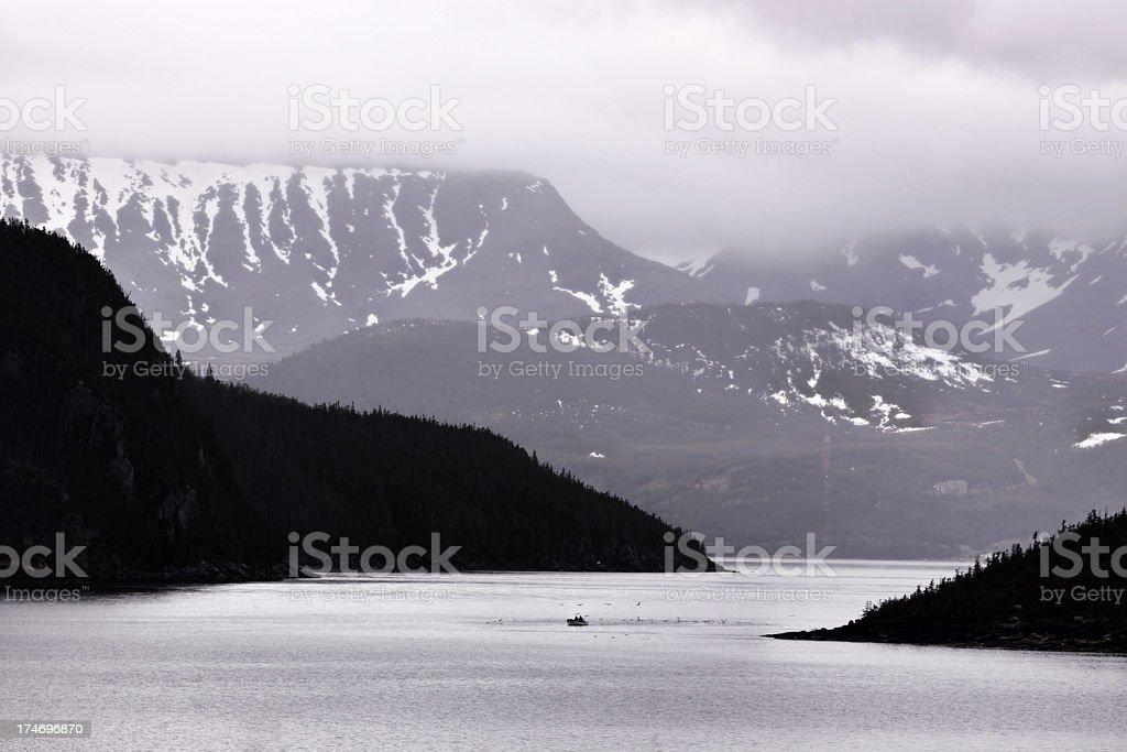 Newfoundland Bay Anglers stock photo