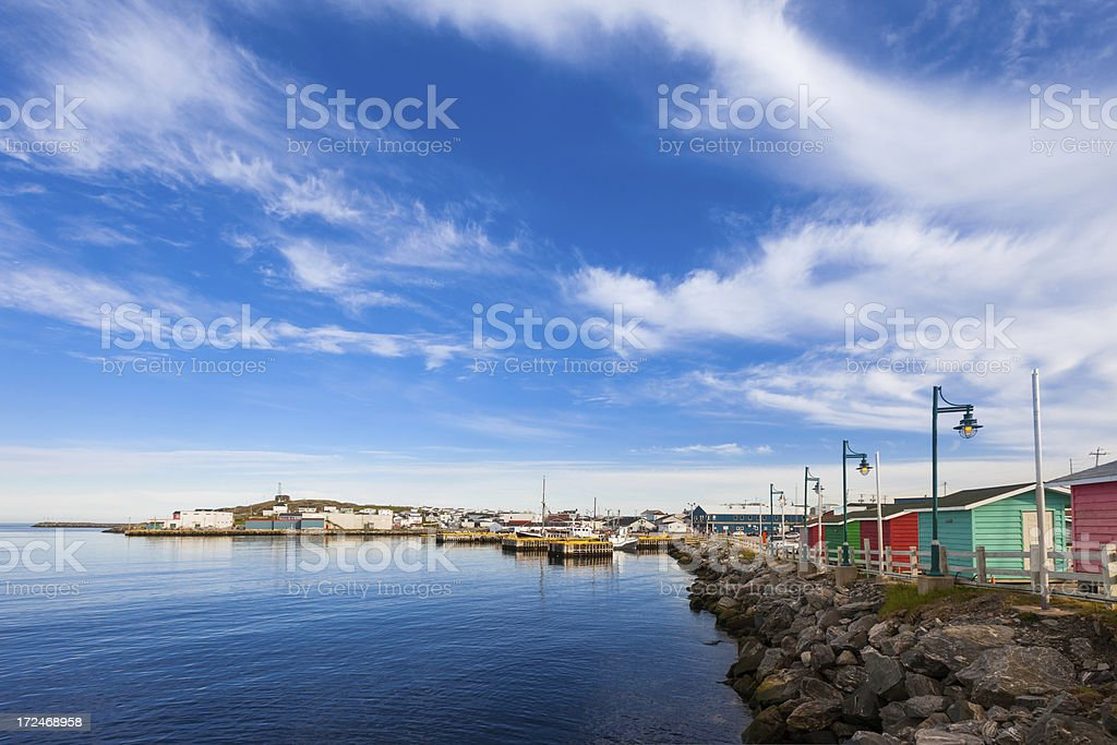 Newfoundland, Canada, Channel-Port aux Basques stock photo