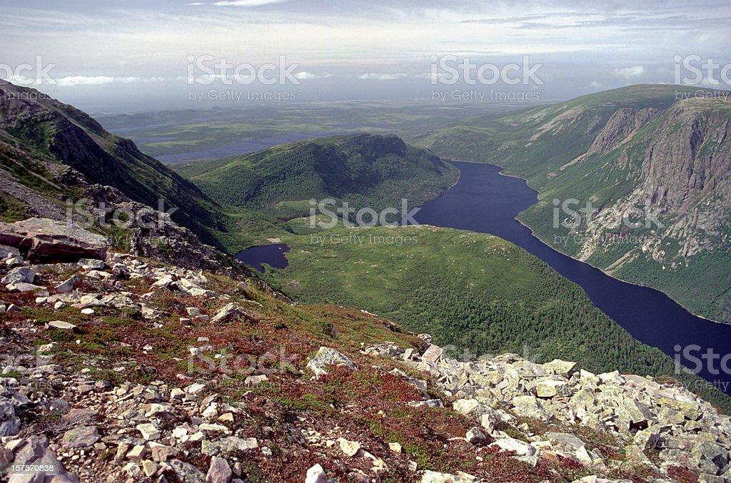Newfoundland Vista stock photo