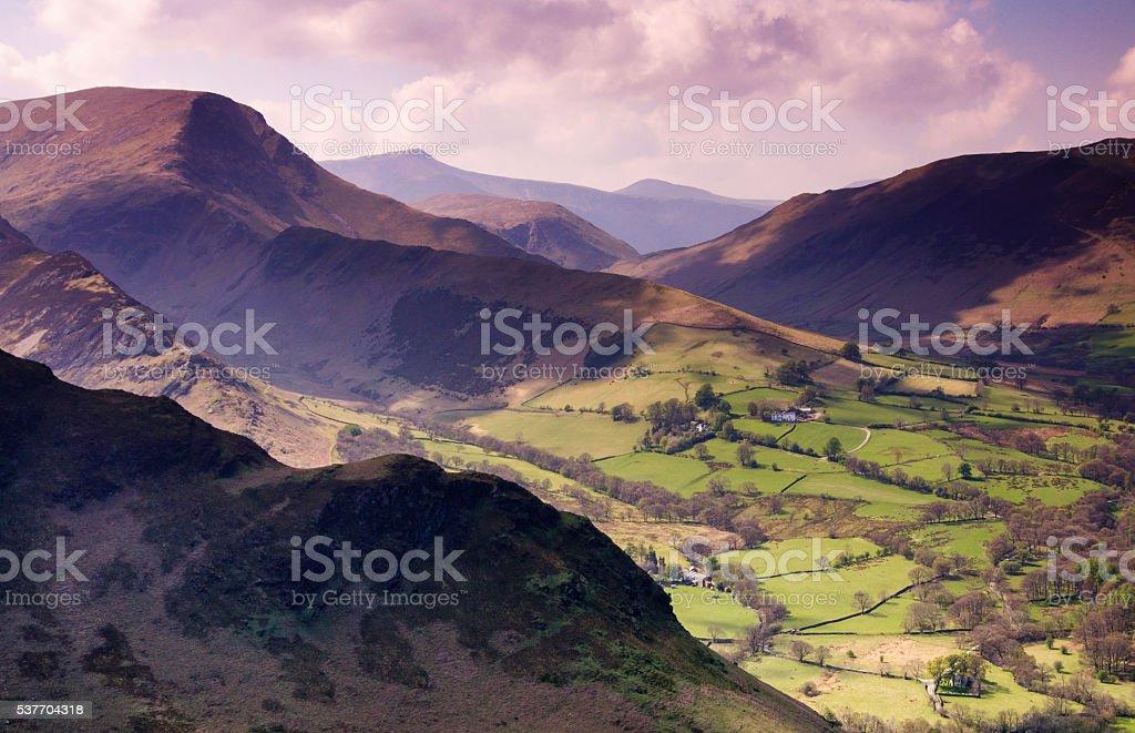 Newlands Horseshoe stock photo