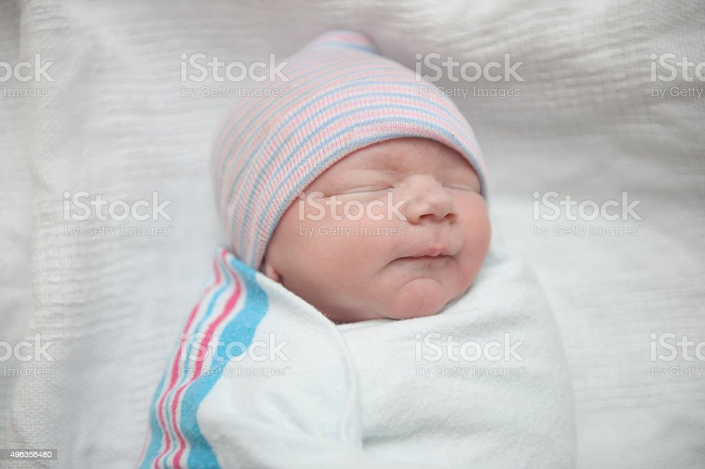 Newly Born Baby stock photo