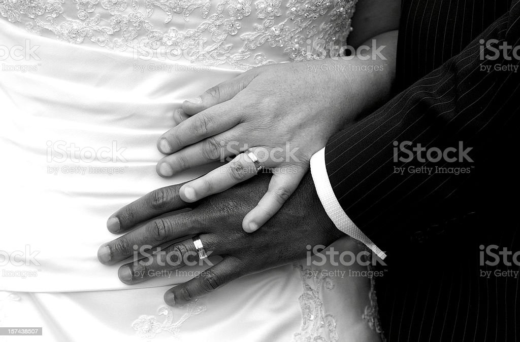 Newlywed royalty-free stock photo
