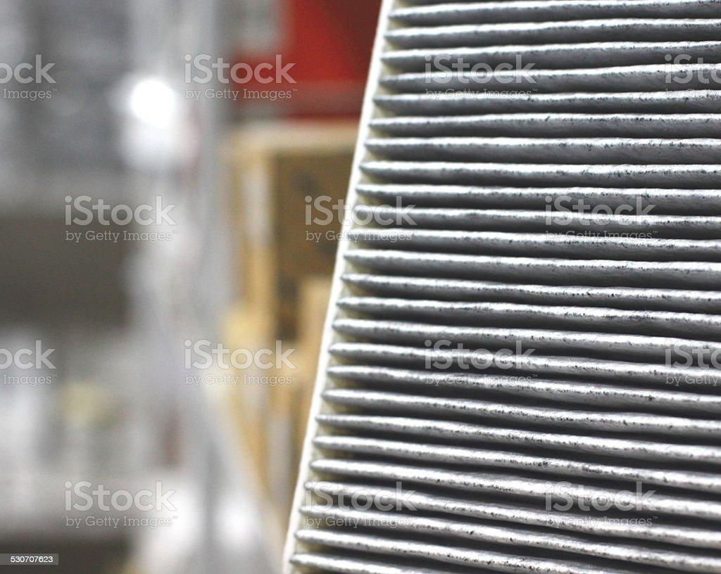NewPolen filter stock photo