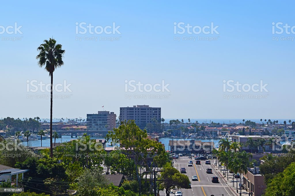 Newport Beach, California stock photo