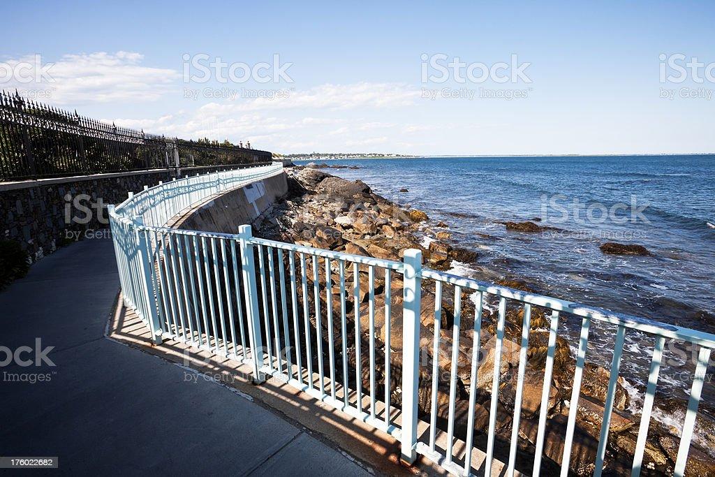 Newport Cliff Walk royalty-free stock photo