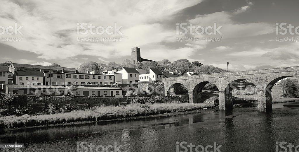 Newport downtown royalty-free stock photo