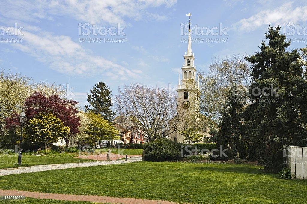 Newport Landmark stock photo