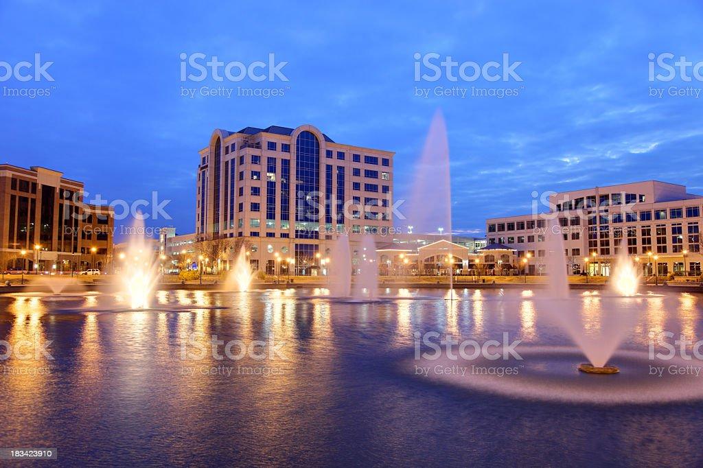 Newport News Virginia stock photo