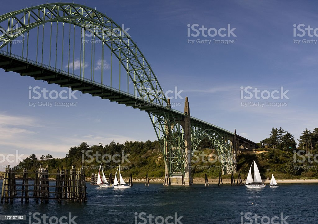 Newport Regatta stock photo