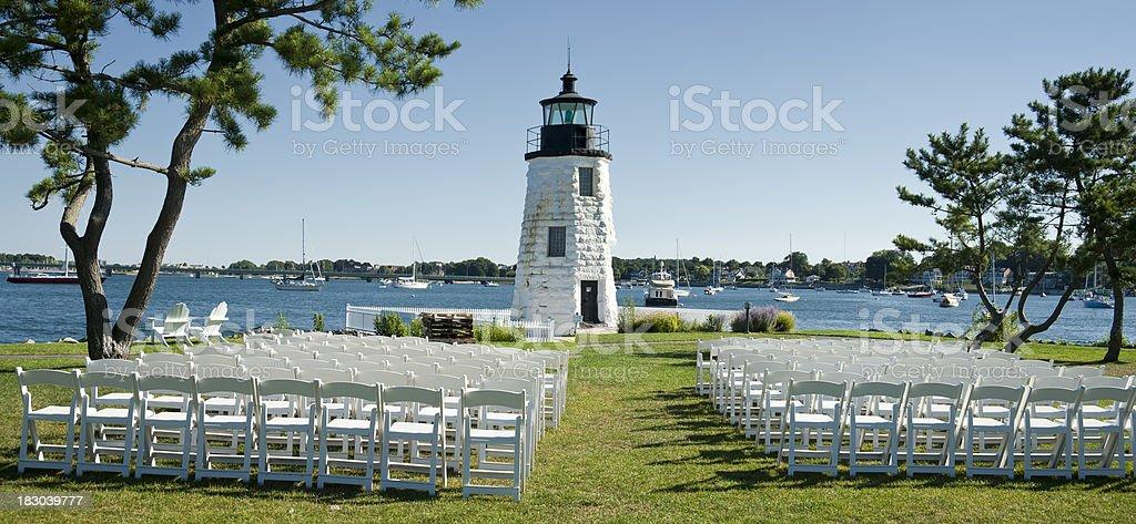 Newport Rhode Island Celebration stock photo