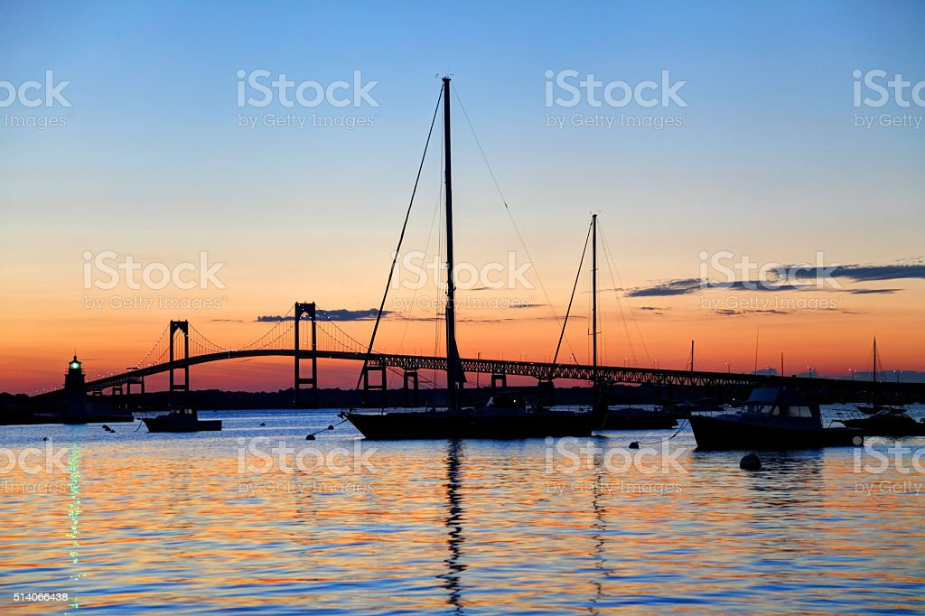 Newport, Rhode Island stock photo