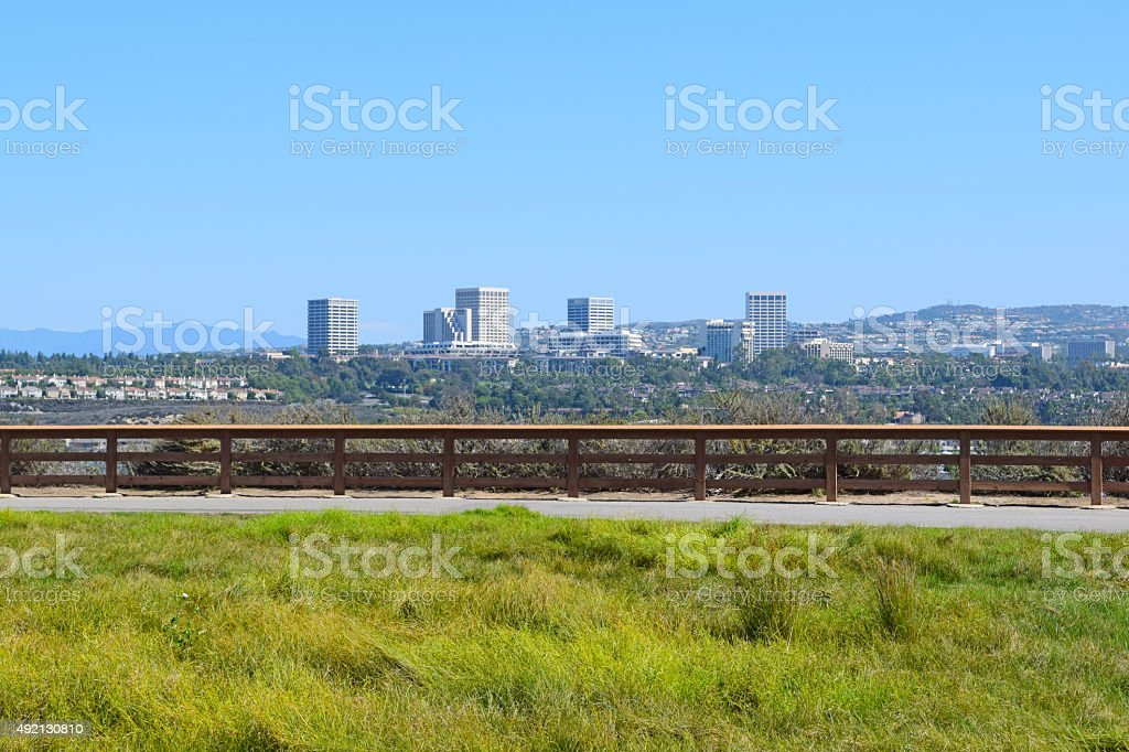 Newport (Back Bay), Southern California stock photo