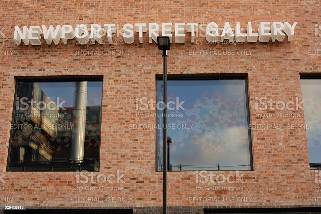 Newport Street Gallery stock photo
