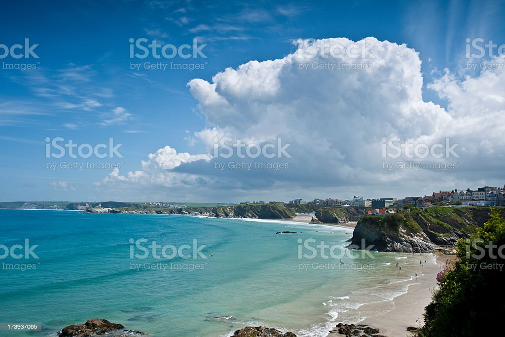 Newquay royalty-free stock photo