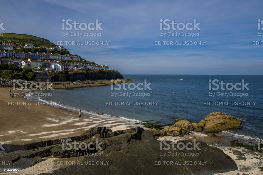 Newquay stock photo