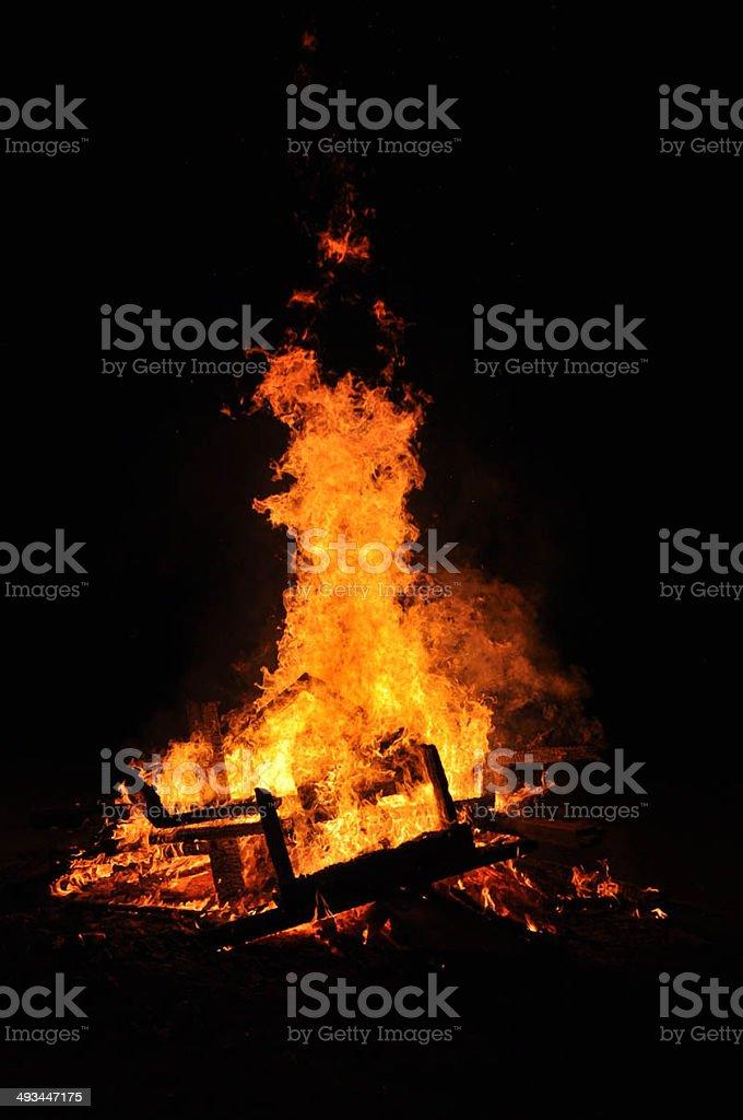 newruz fire stock photo