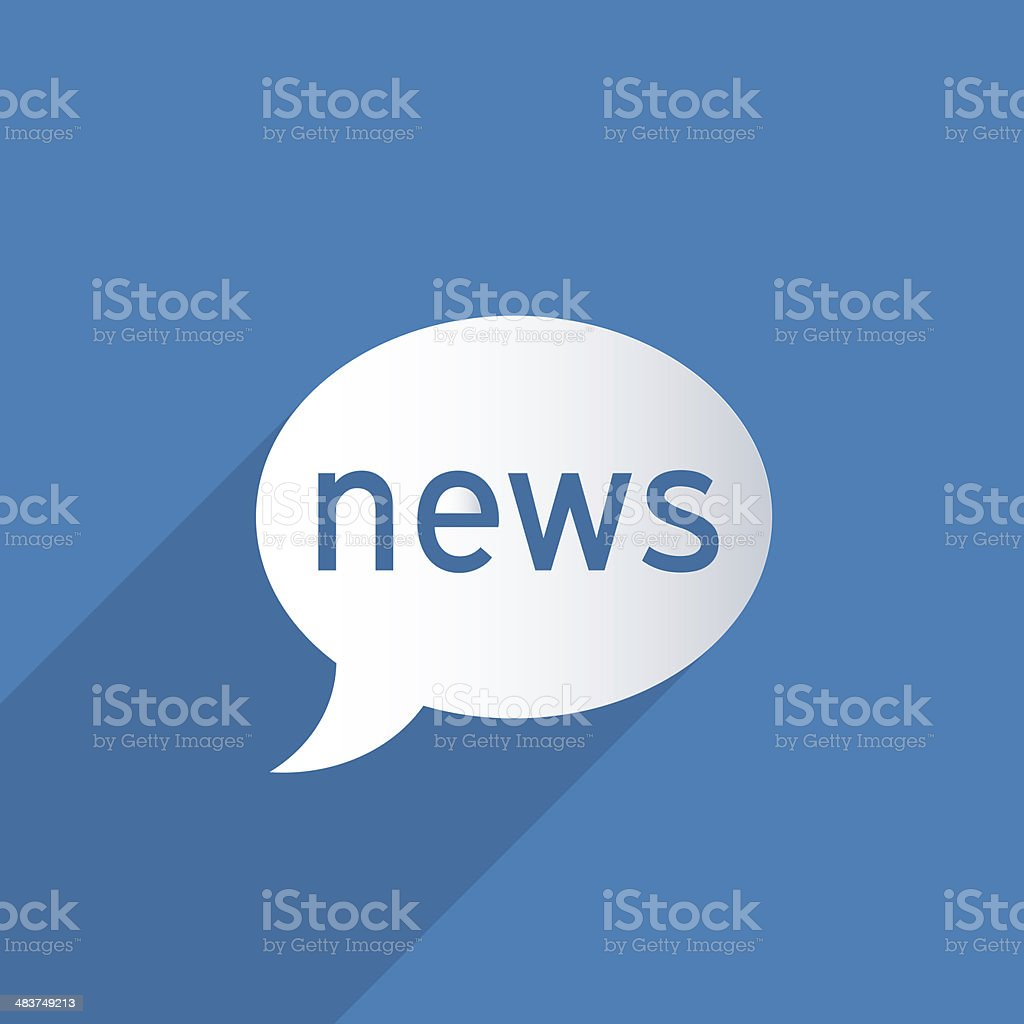 News balloon stock photo