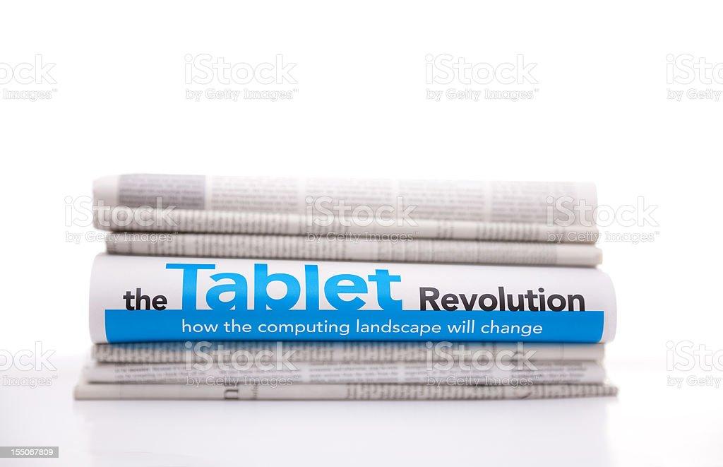 News Concept: Computing Revolution royalty-free stock photo