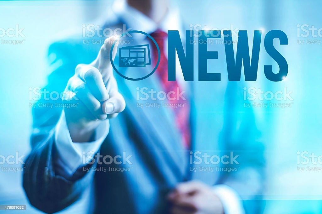 News concept illustration stock photo