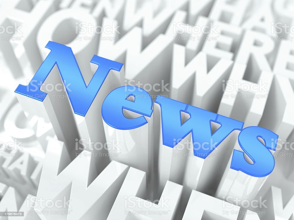 News Concept. royalty-free stock photo