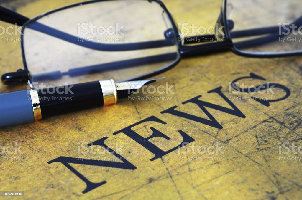 News concept royalty-free stock photo