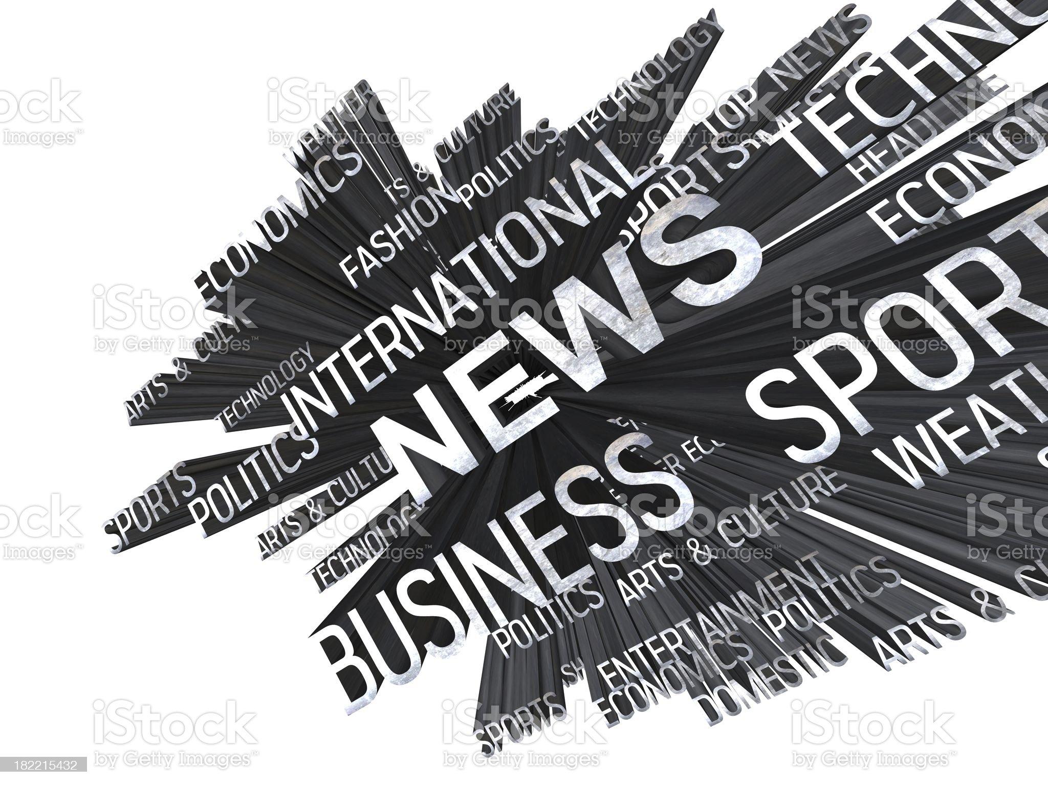News design royalty-free stock photo