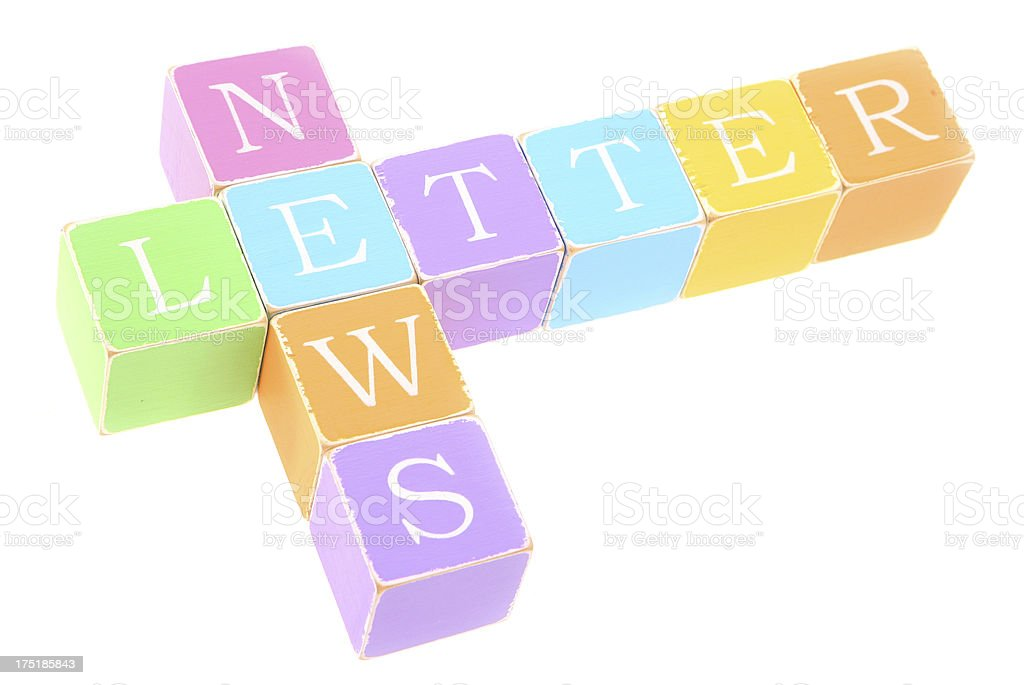 News Letter royalty-free stock photo