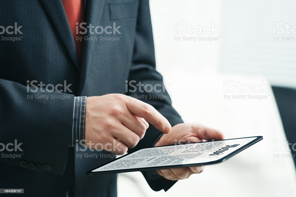 News Online stock photo