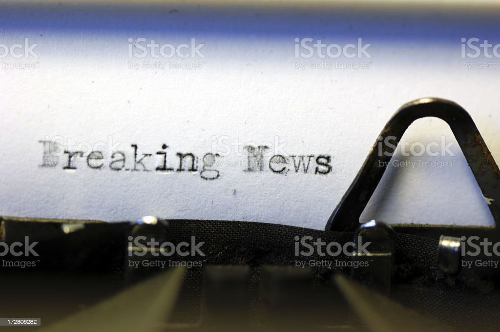 News royalty-free stock photo