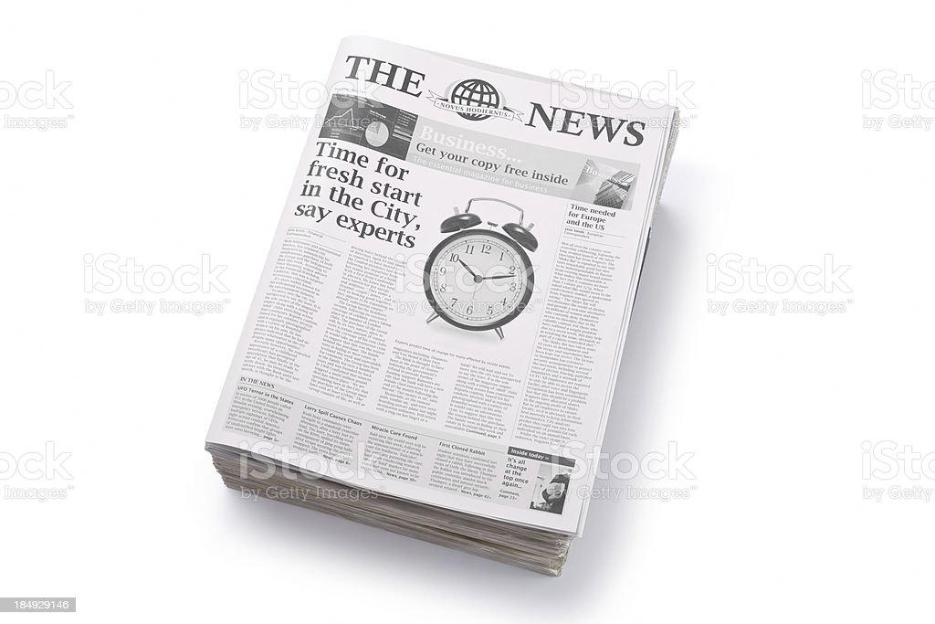 News... royalty-free stock photo
