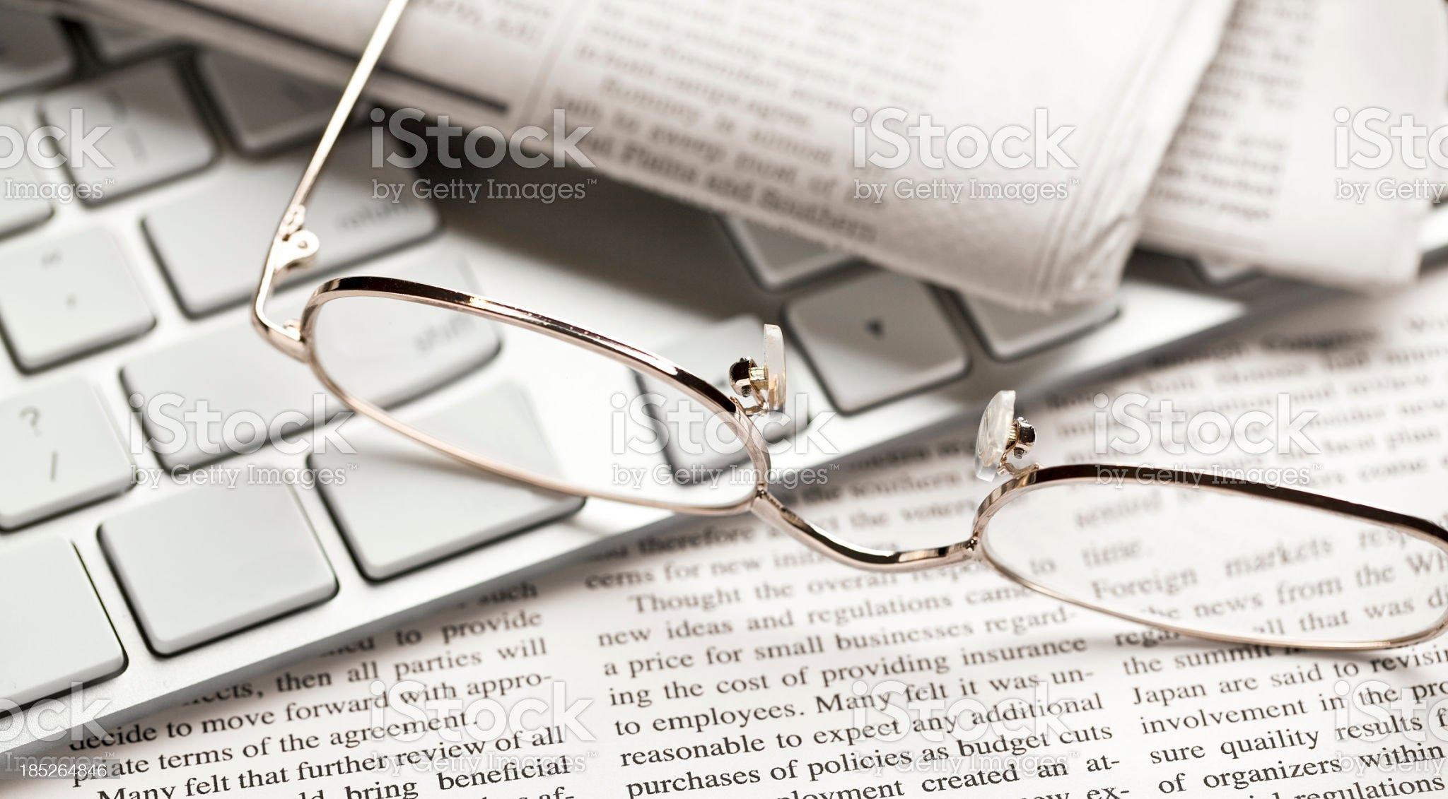 News royalty-free stock photo