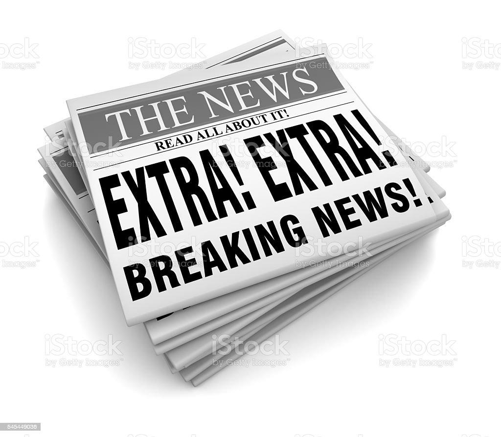 EXTRA News stock photo