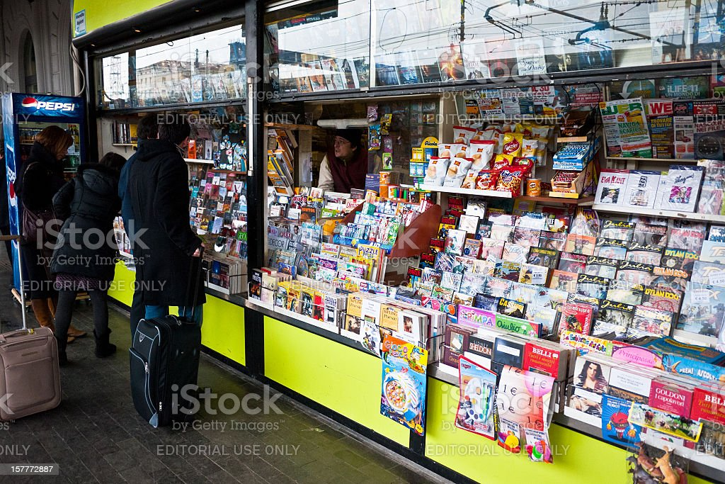 News Stand royalty-free stock photo