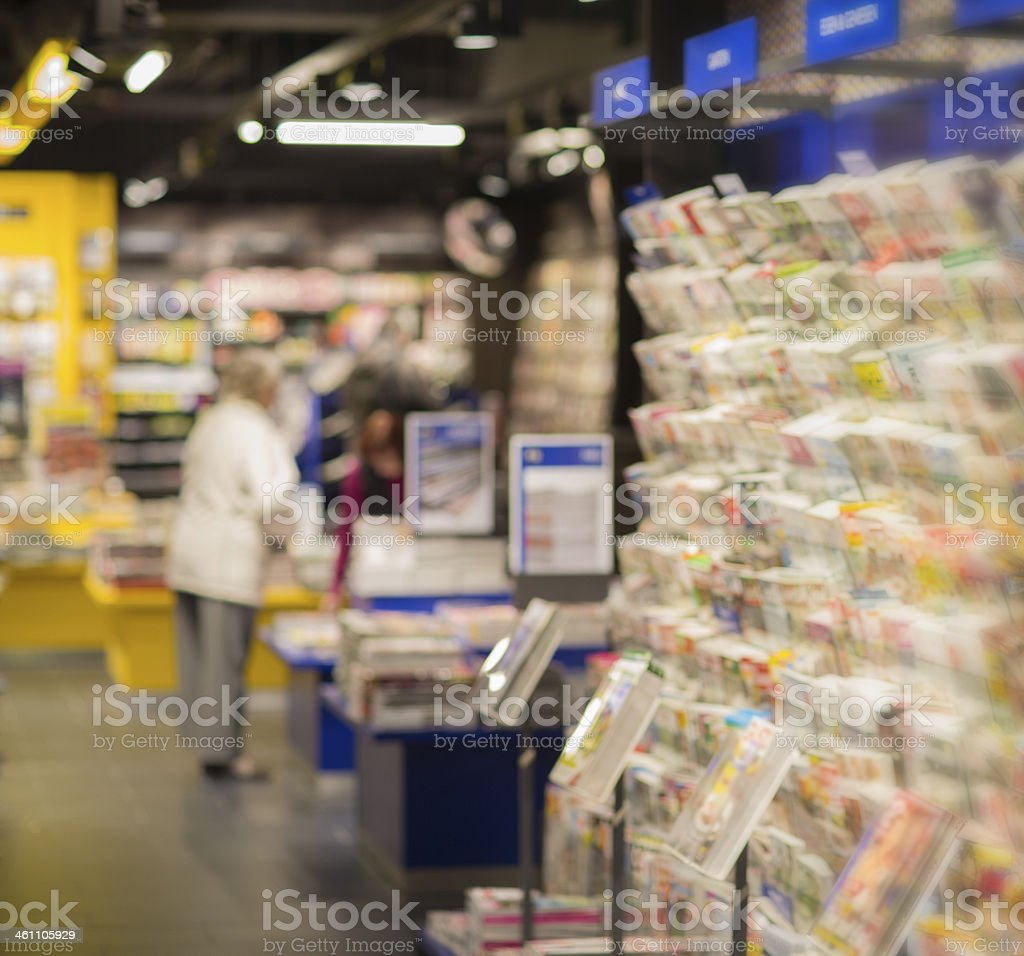 News Stand stock photo