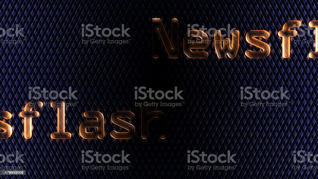 Newsflash Background stock photo