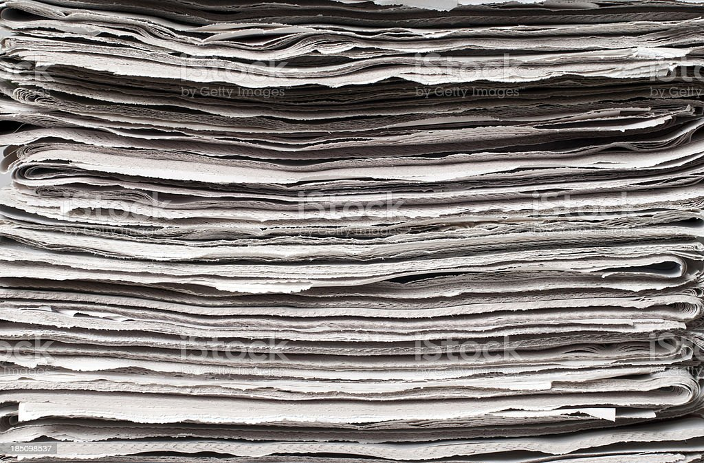 newspaper background royalty-free stock photo