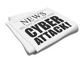 Newspaper cyber attack