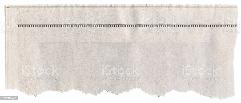Newspaper Headline stock photo