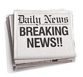 Newspaper Headlines Breaking News
