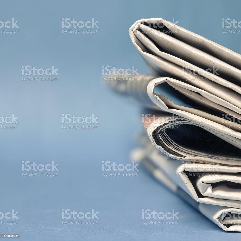 Newspaper royalty-free stock photo