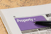 Newspaper property and home search