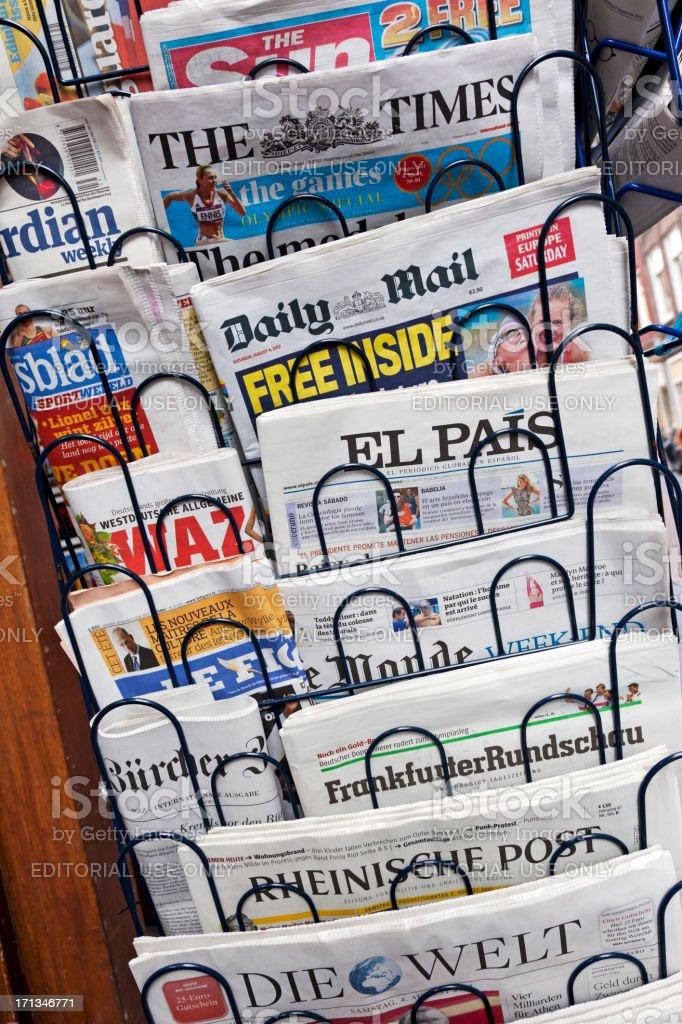 Newspapers # 3 XXXL stock photo