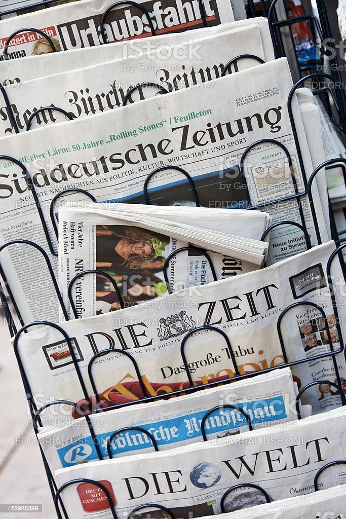 Newspapers # 1 XXXL royalty-free stock photo