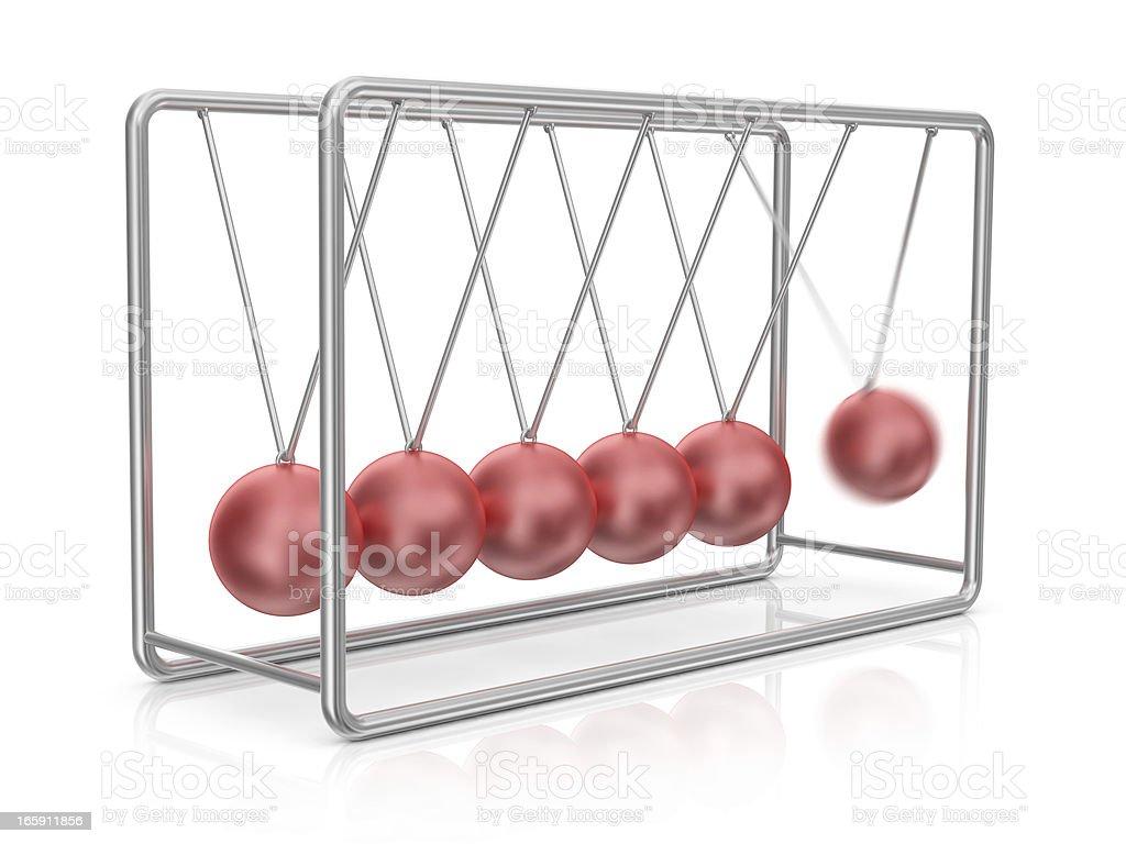 Newton's Cradle stock photo