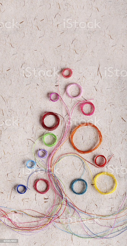 New-Year decorations royalty-free stock photo