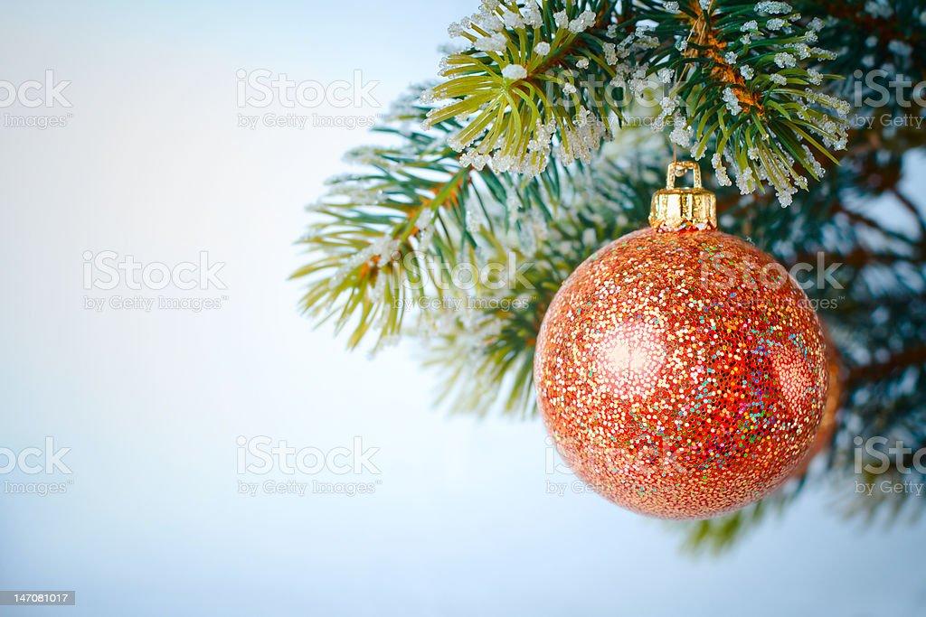 New-year tree decoration royalty-free stock photo