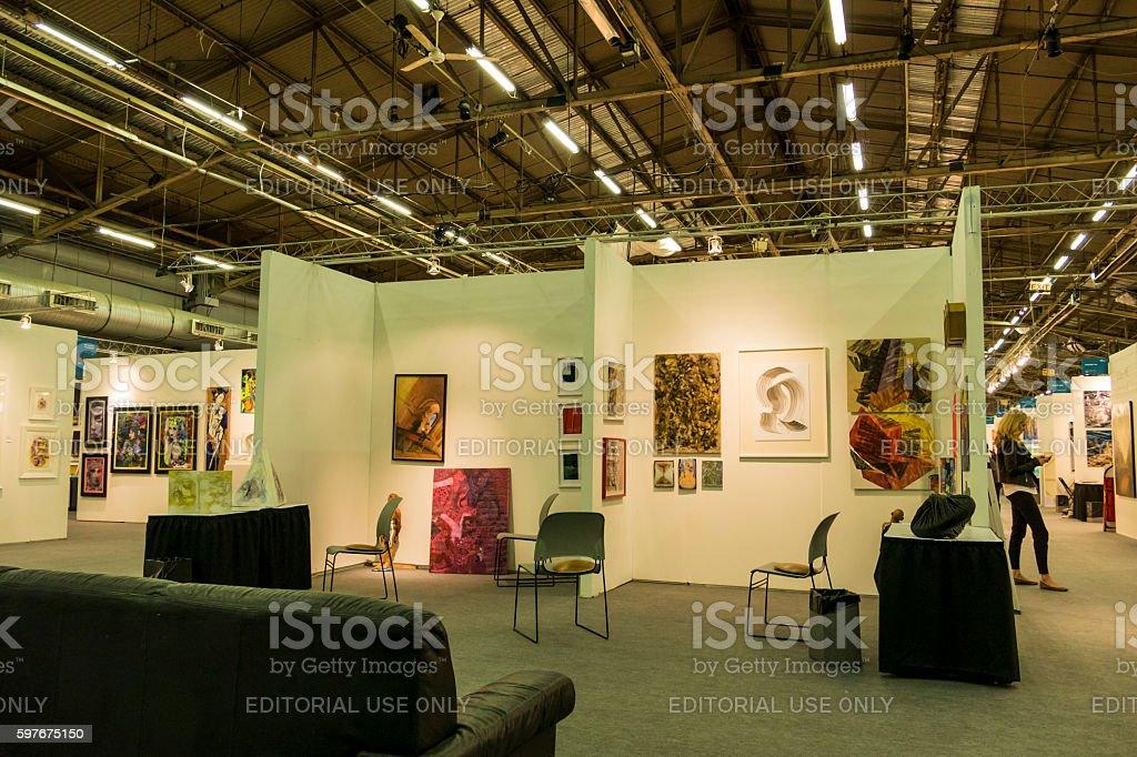 NewYork ArtExpo 2016 stock photo