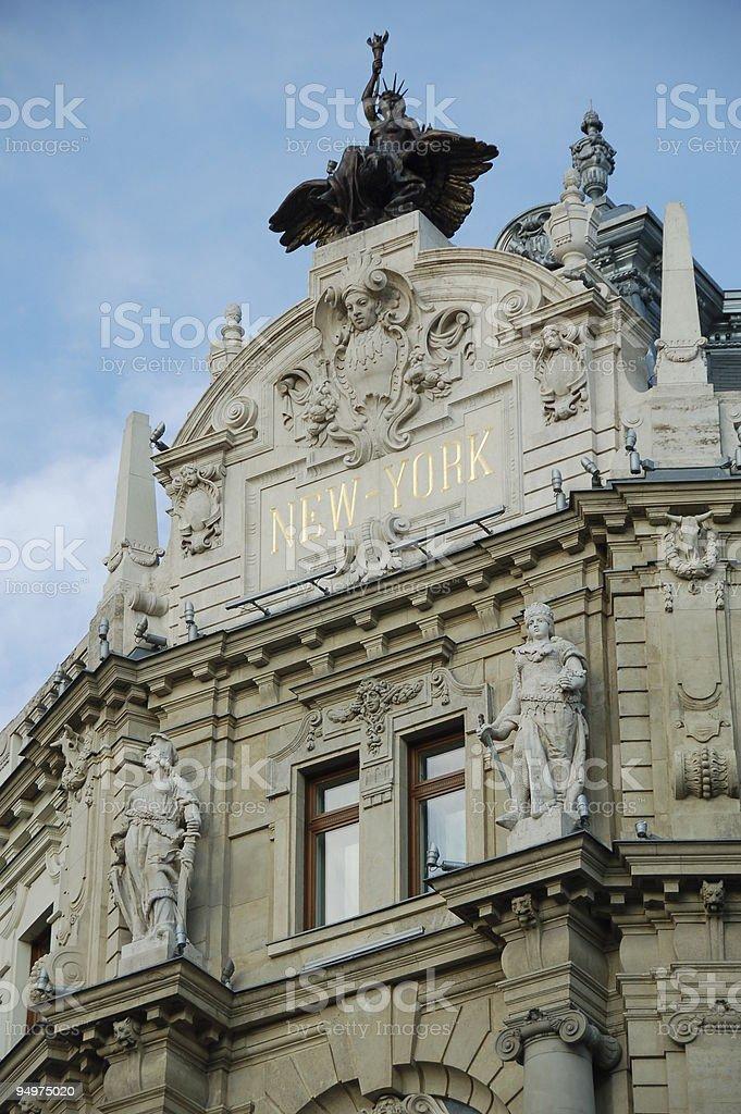 New-York Palace - Budapest royalty-free stock photo