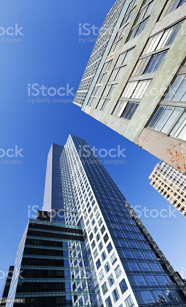 New-York Skyscrapers royalty-free stock photo