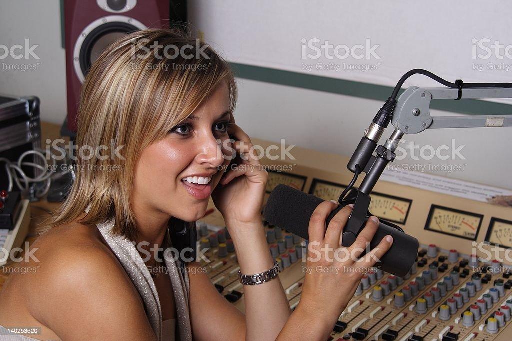 Next Caller royalty-free stock photo